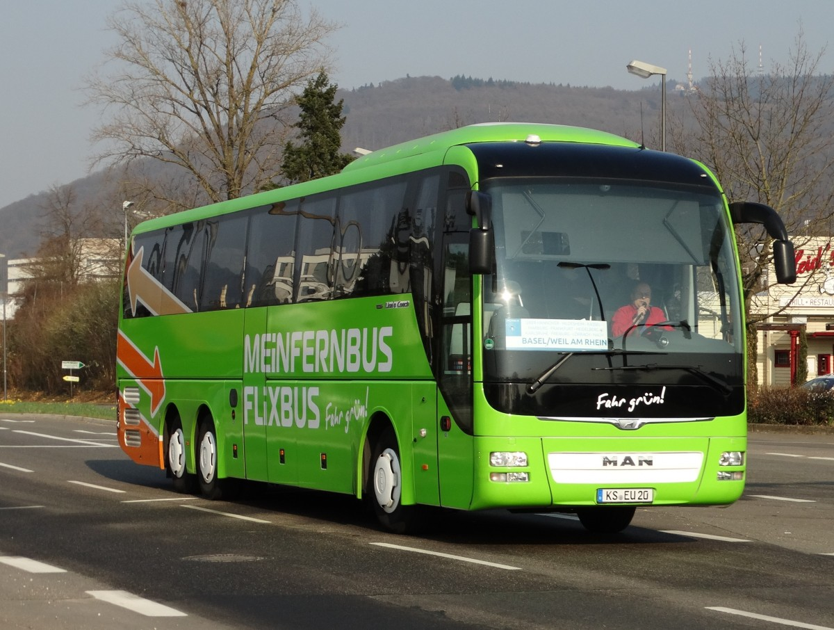 meinfernbus flixbus man lions coach am in. Black Bedroom Furniture Sets. Home Design Ideas
