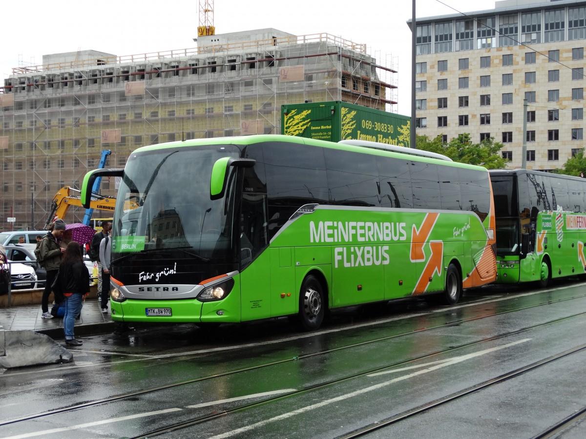 Flixbus Hamburg Frankfurt
