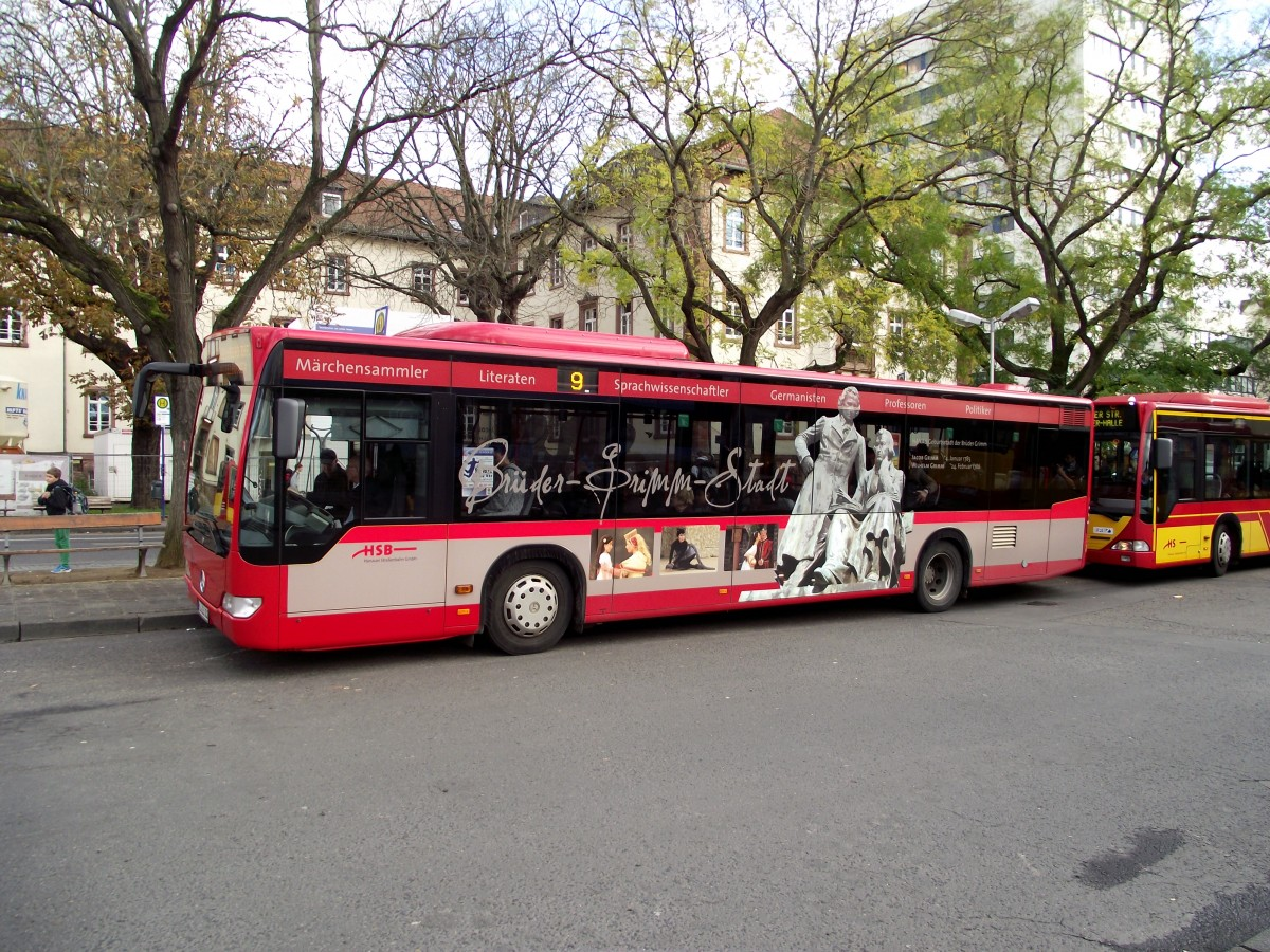 mercedes benz citaro c1 facelift mit br der grimm werbung am in hanau bus. Black Bedroom Furniture Sets. Home Design Ideas