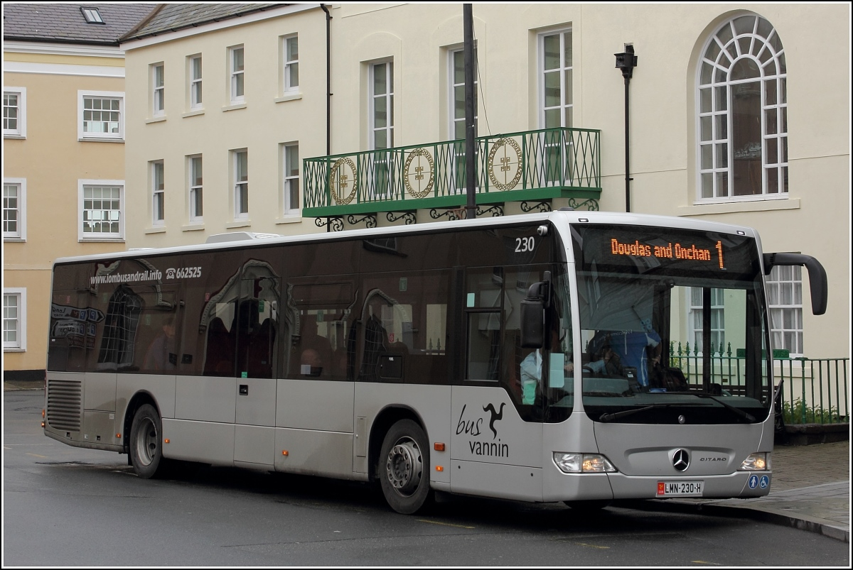 Mercedes Benz Citaro in Castletown (Isle of Man). 29.04.2017