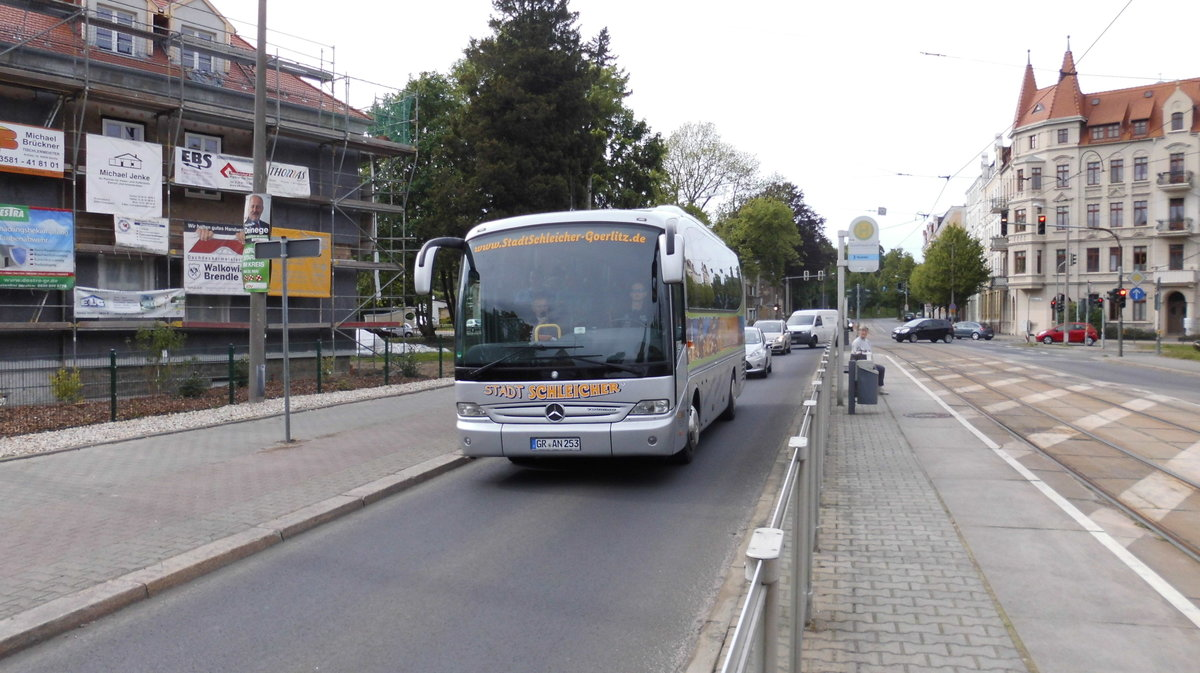 Mercedes-Benz O510 am 10.05.2014 in Görlitz