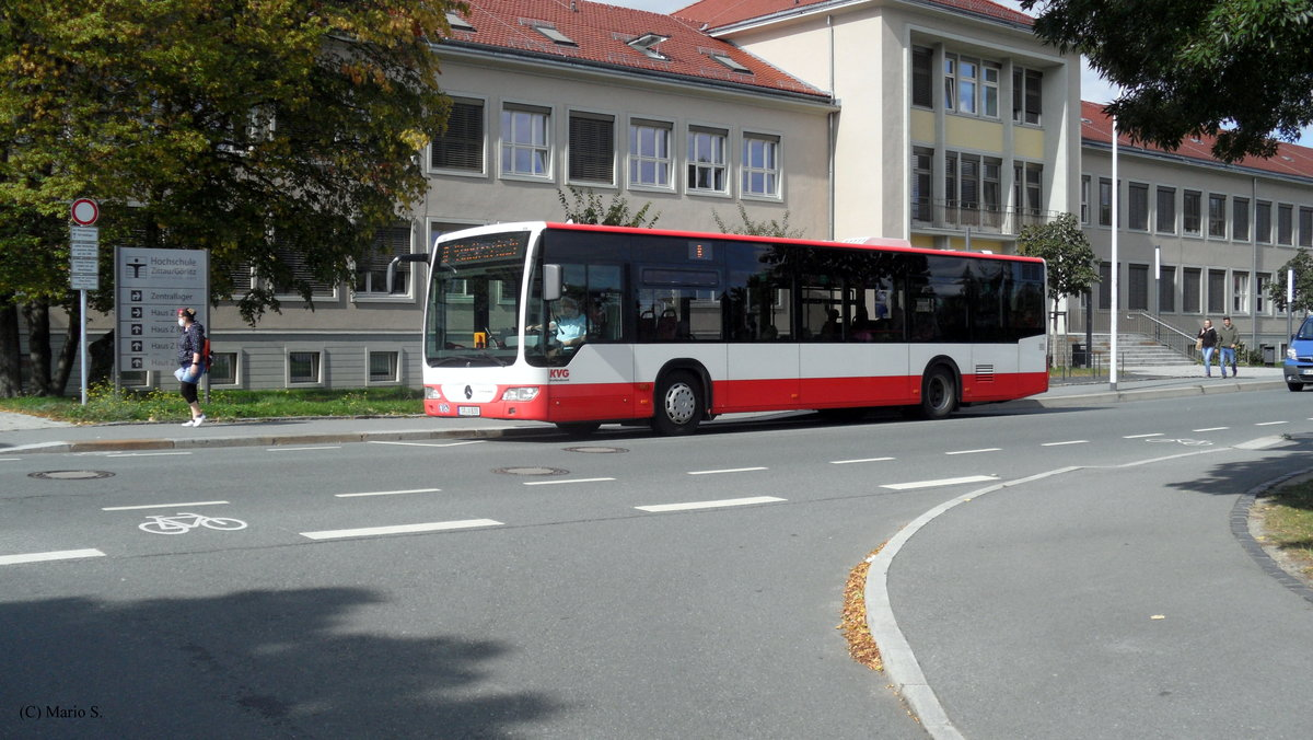 Mercedes-Benz O530 II am 17.09.2020 in Zittau.