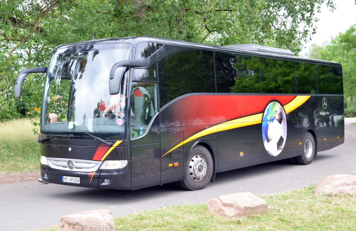 mercedes benz tourismo reisebus am am rhein bei germersheim bus. Black Bedroom Furniture Sets. Home Design Ideas