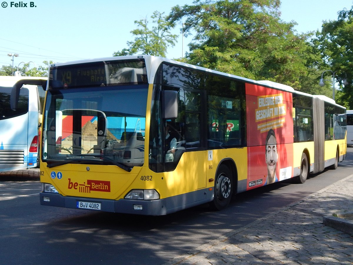 Mercedes Citaro I der BVG in Berlin am 08.06.2016