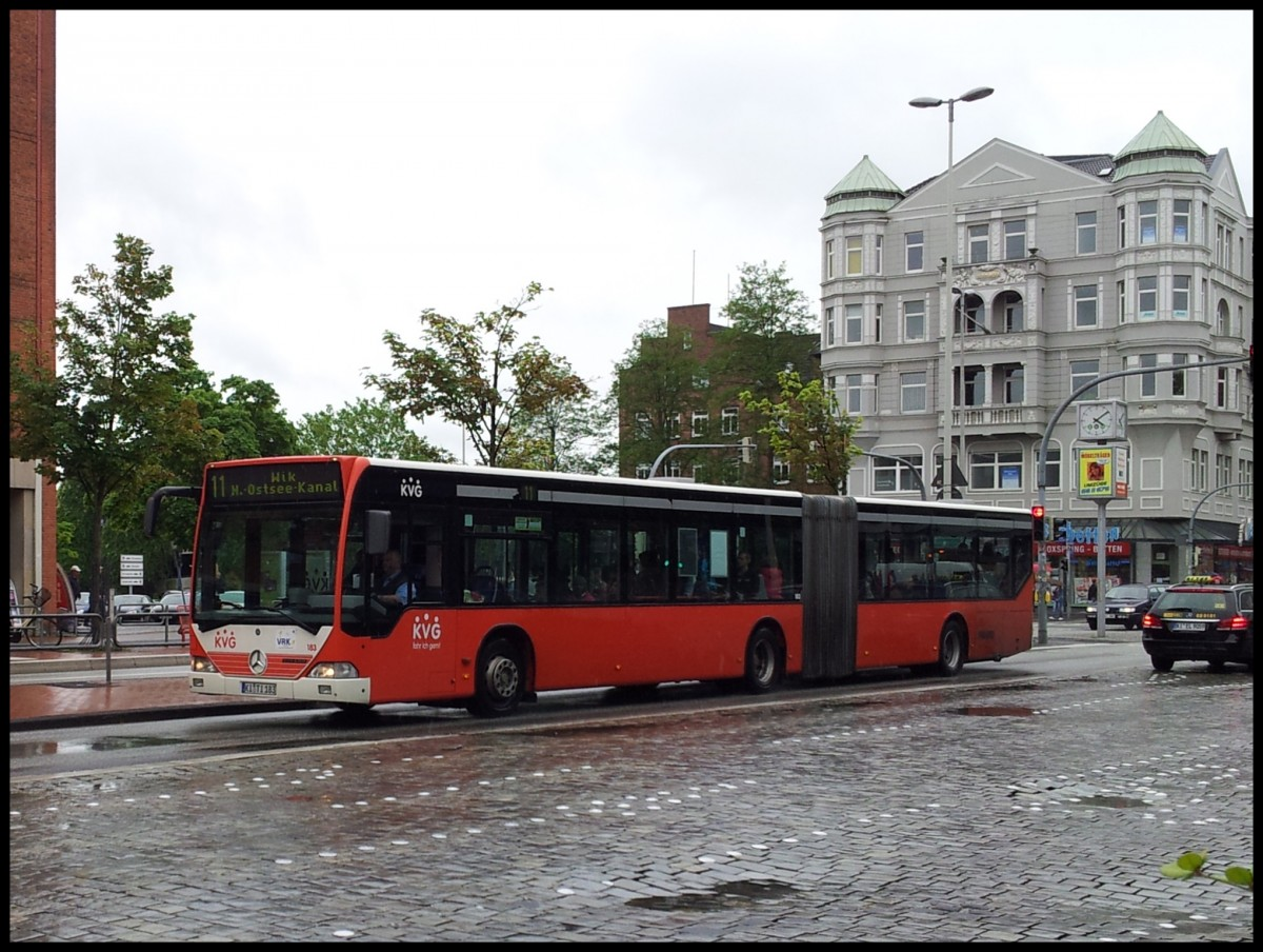 mercedes citaro i der kvg in kiel am bus. Black Bedroom Furniture Sets. Home Design Ideas