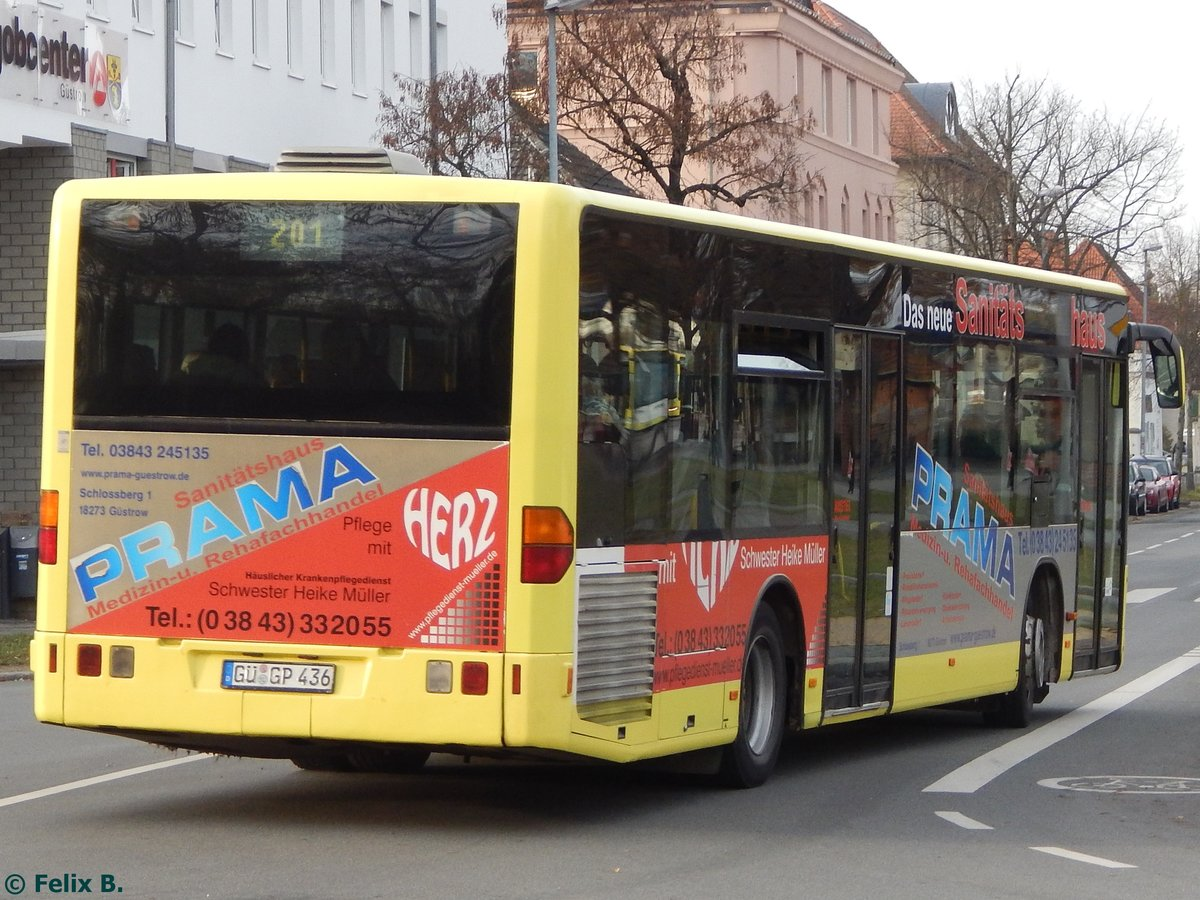 Mercedes Citaro I von Regionalbus Rostock in Güstrow am 23.11.2016