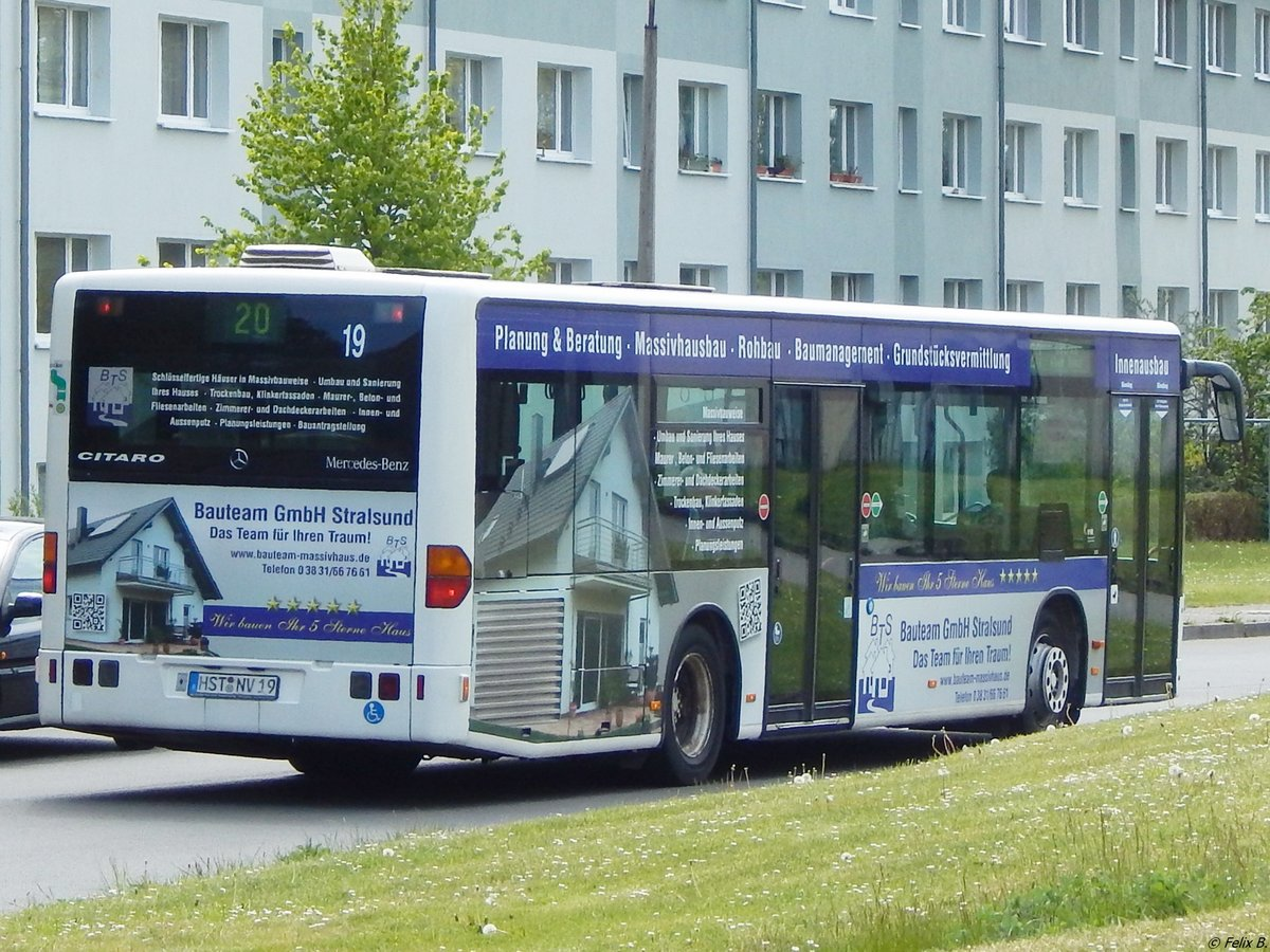 Mercedes Citaro I der VVR in Sassnitz am 18.05.2016