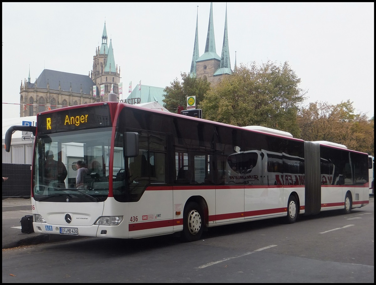 mercedes citaro ii der evag in erfurt am bus. Black Bedroom Furniture Sets. Home Design Ideas