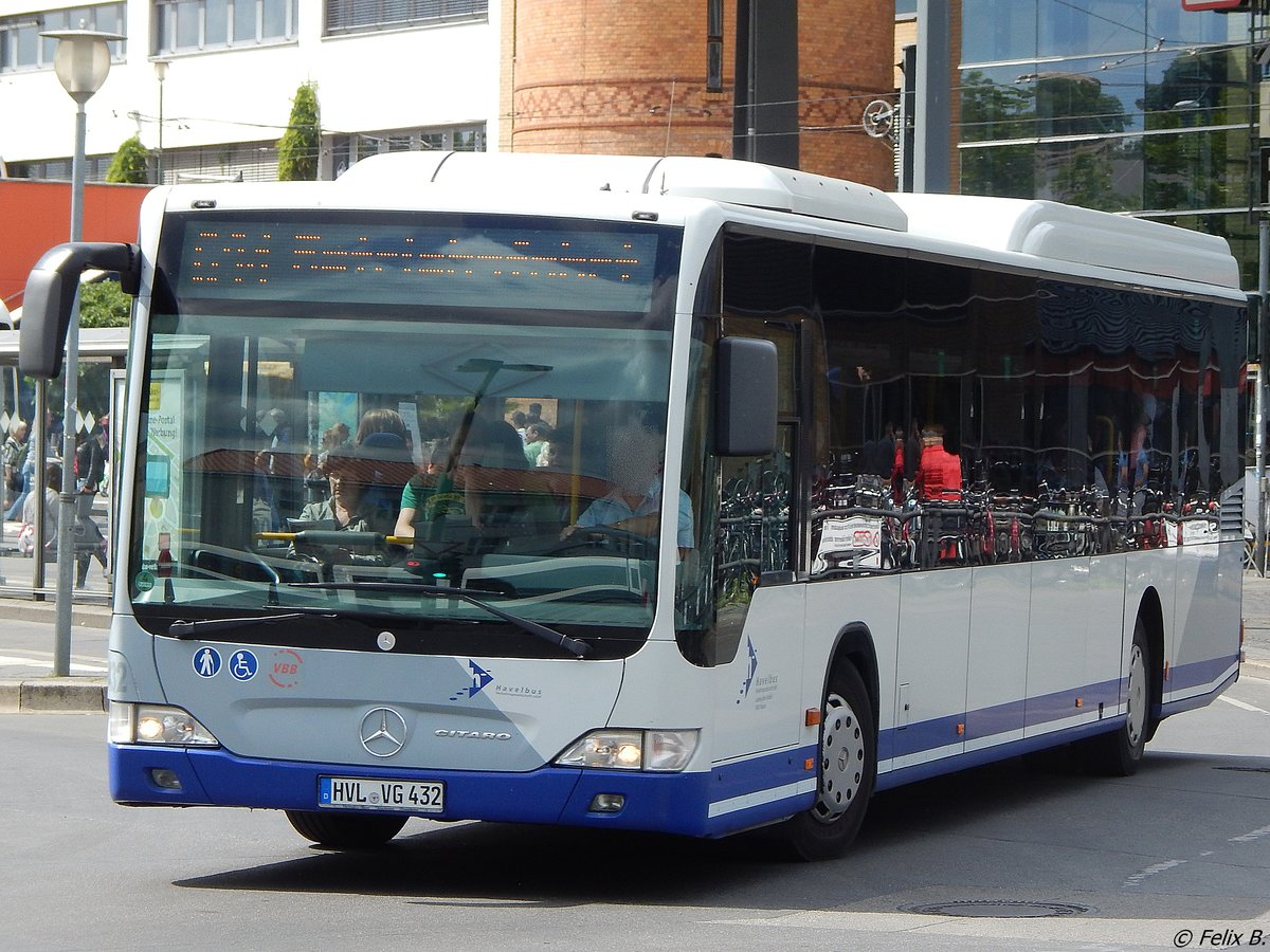 Mercedes Citaro II von Havelbus in Potsdam am 10.06.2016