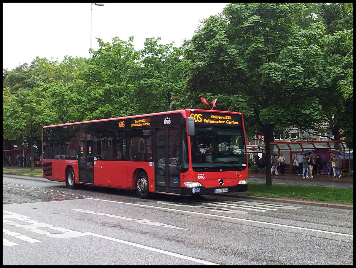 mercedes citaro ii der kvg in kiel am bus. Black Bedroom Furniture Sets. Home Design Ideas