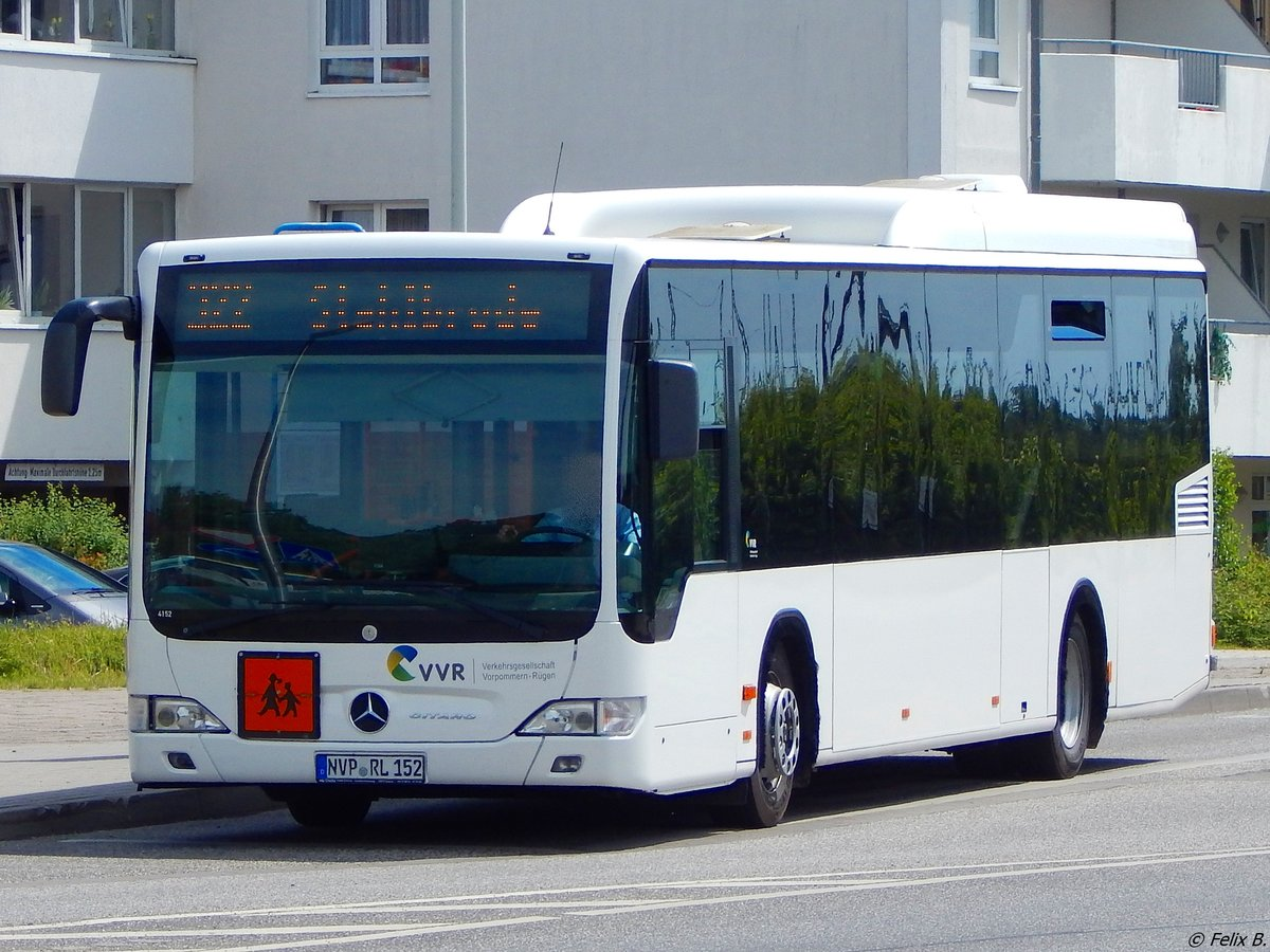 Mercedes Citaro II der VVR in Grimmen am 09.06.2017