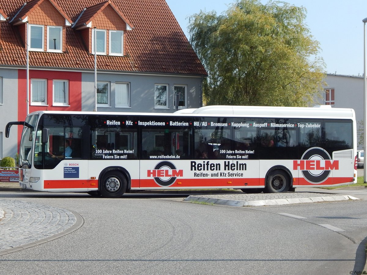 Mercedes Citaro II der VVR in Grimmen am 29.09.2017
