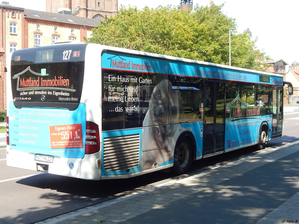 Mercedes Citaro II der VVR in Stralsund am 21.07.2017