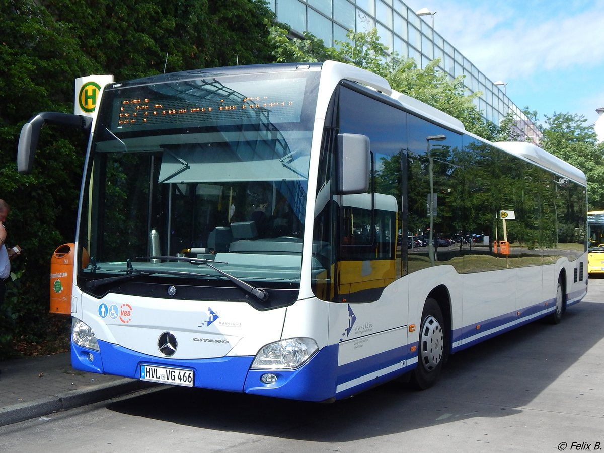 Mercedes Citaro III von Havelbus in Berlin am 10.06.2016