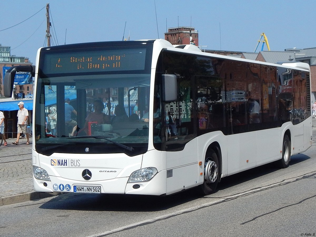Mercedes Citaro III von Nahbus in Wismar am 09.08.2018