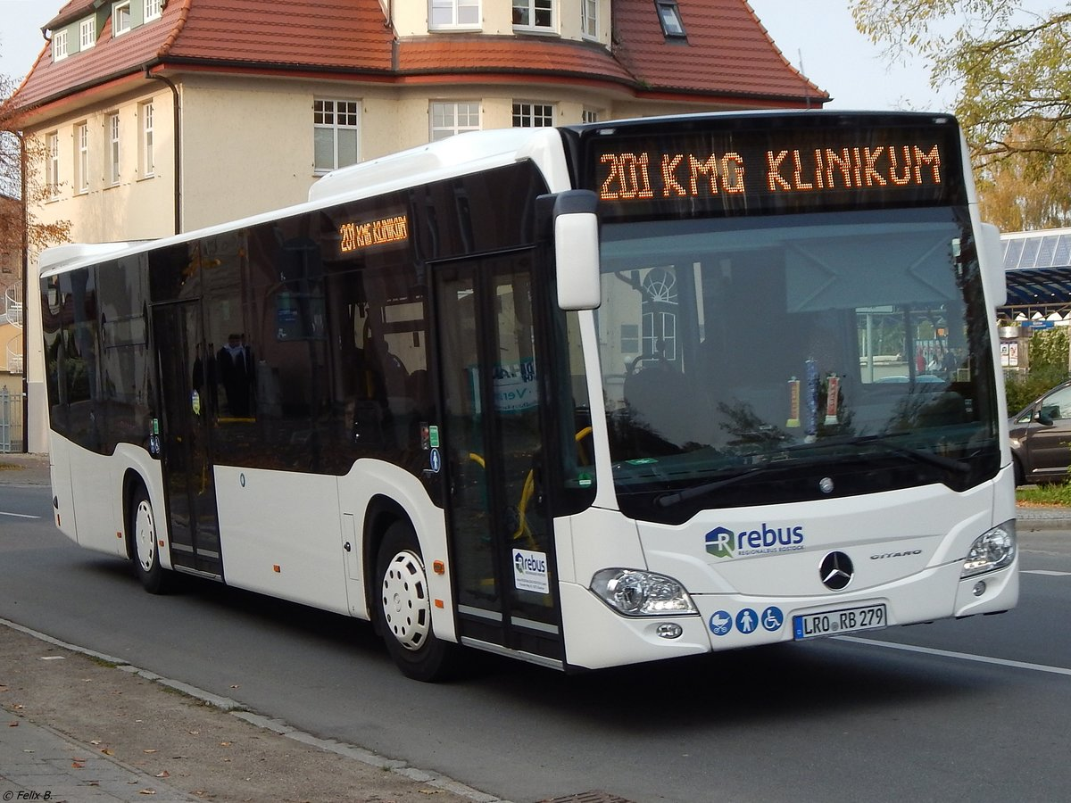 Mercedes Citaro III von Regionalbus Rostock in Güstrow am 18.10.2017