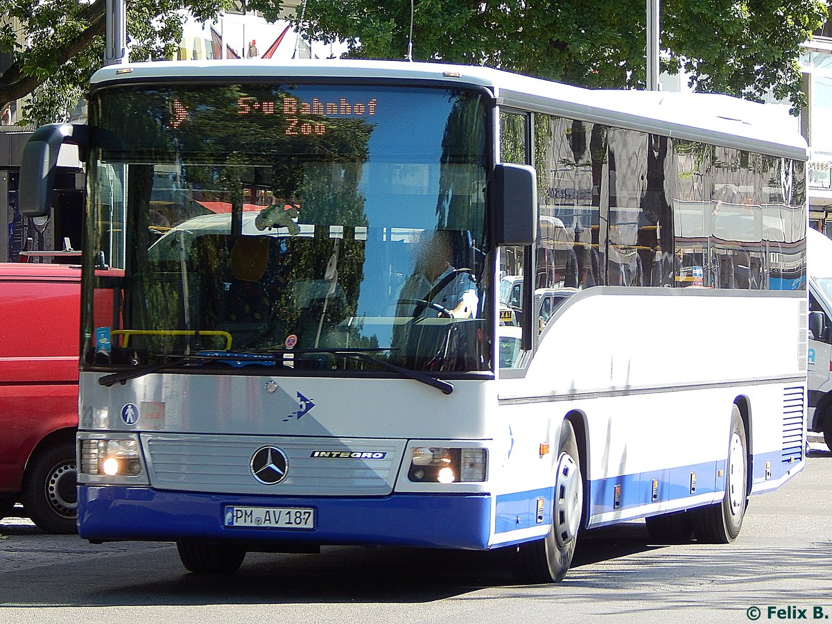 Mercedes Integro von Havelbus in Berlin am 08.06.2016