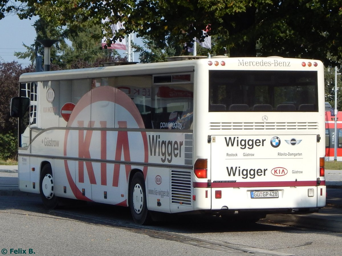 mercedes integro von regionalbus rostock in g strow am 13. Black Bedroom Furniture Sets. Home Design Ideas