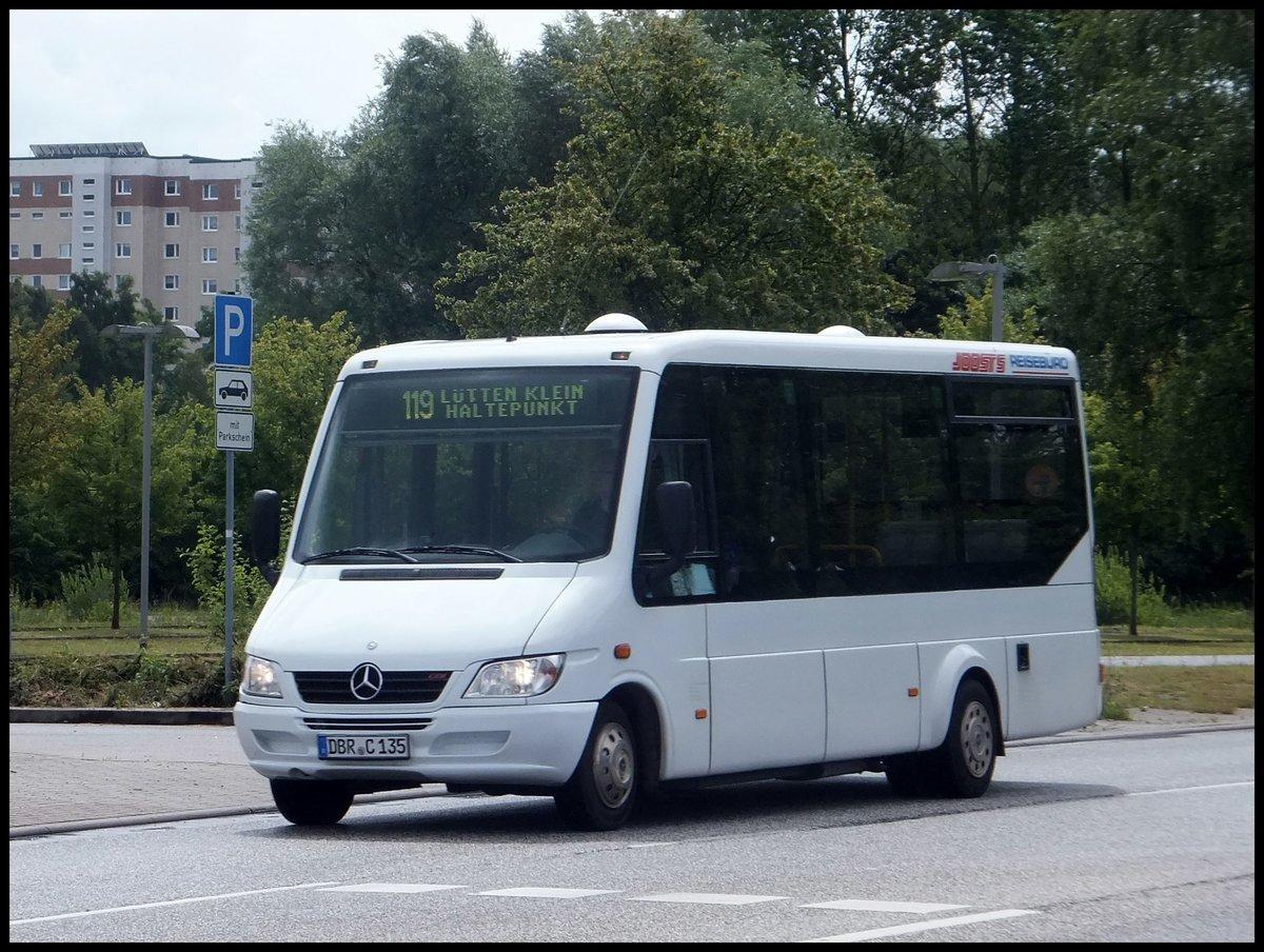 mercedes sprinter von joost 39 s aus deutschland in rostock am bus. Black Bedroom Furniture Sets. Home Design Ideas