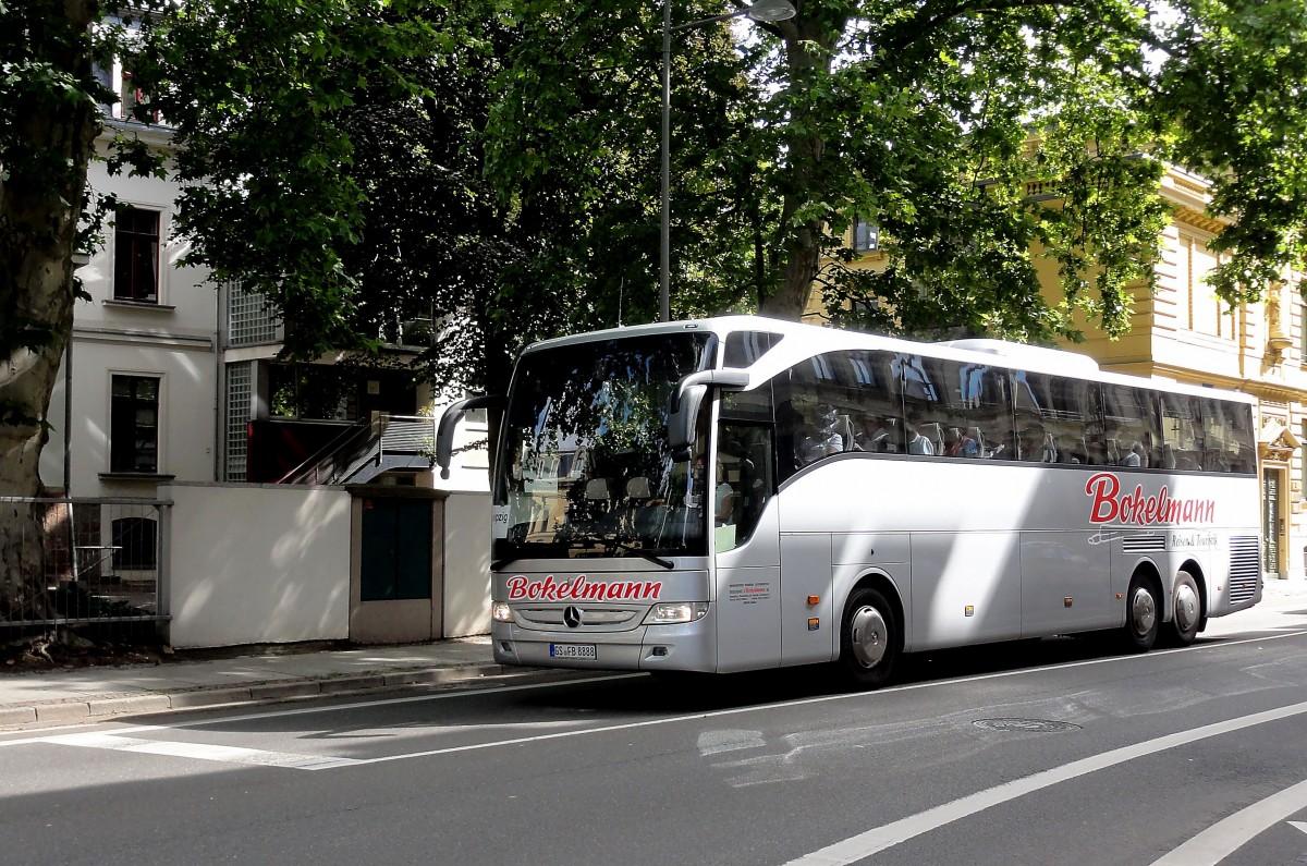 mercedes tourismo von bokelmann der brd am 27 beim zoo leipzig gesehen bus. Black Bedroom Furniture Sets. Home Design Ideas