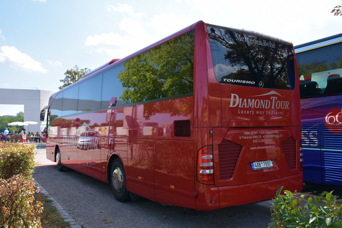 Mercedes Tourismo von Diamond Tour aus der CZ 2017 in Krems.
