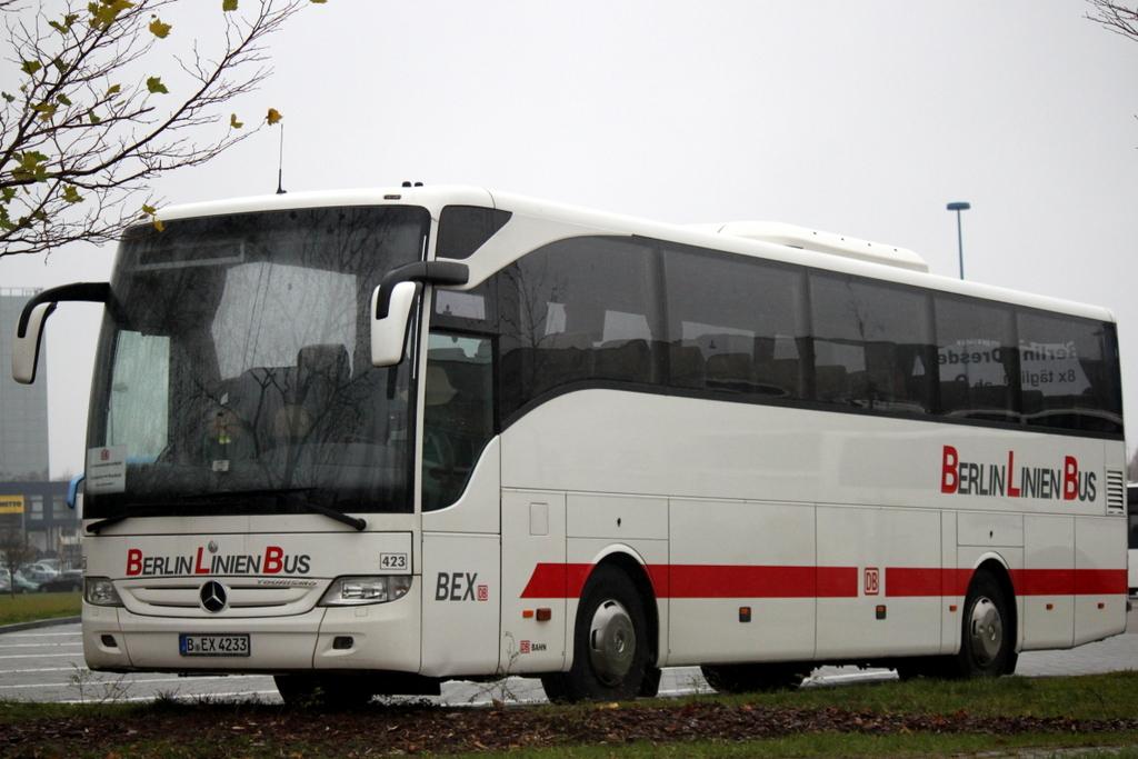 mercedes tourismo der firma berlin linien bus stand als sev bus von rostock albrecht kossel. Black Bedroom Furniture Sets. Home Design Ideas