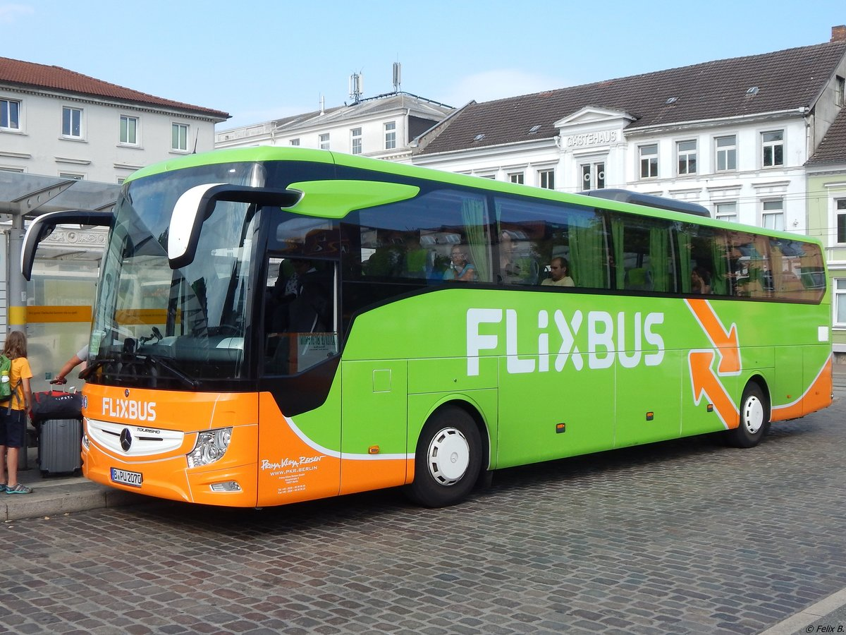 Flixbus Hamburg Schwerin