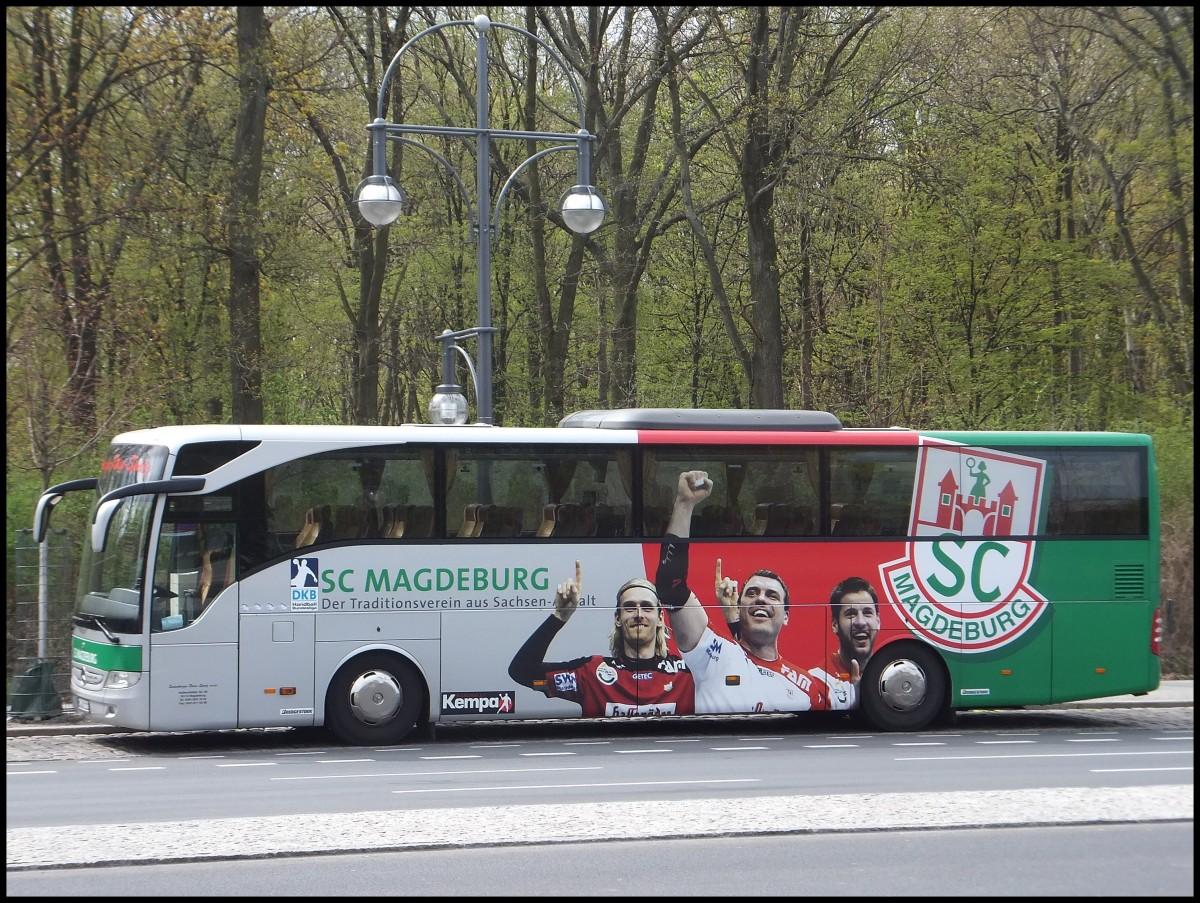 mercedes tourismo vom sc magdeburg aus deutschland in berlin am bus. Black Bedroom Furniture Sets. Home Design Ideas