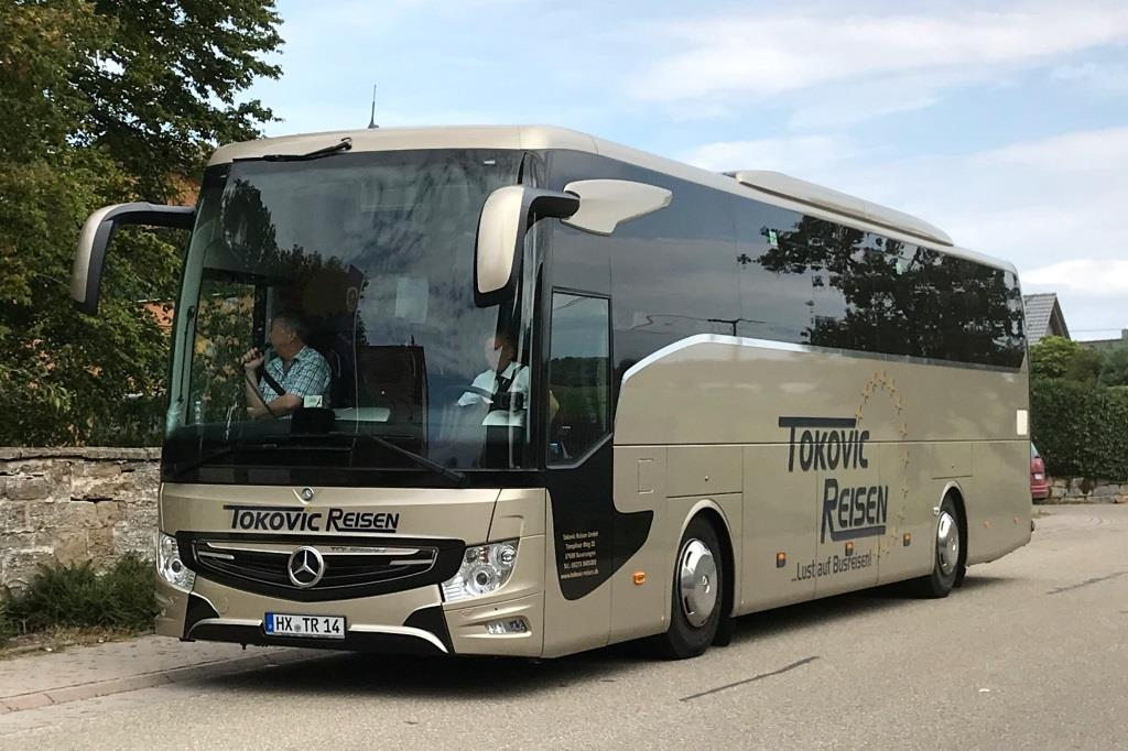Mercedes Tourismo  Tokovic , Ötisheim September 2019