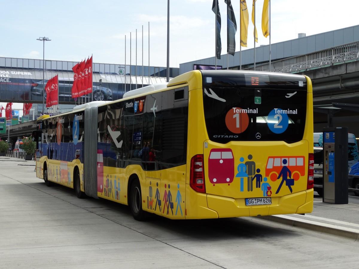 m ller reisen riedstadt mercedes benz citaro c2 g terminal shuttle am in frankfurt am. Black Bedroom Furniture Sets. Home Design Ideas