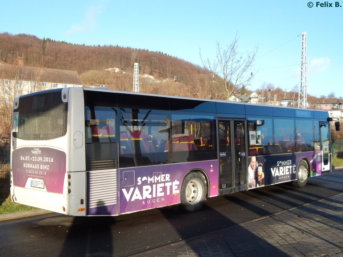 Neoplan Centroliner Evolution der VVR in Sassnitz am 26.12.2016