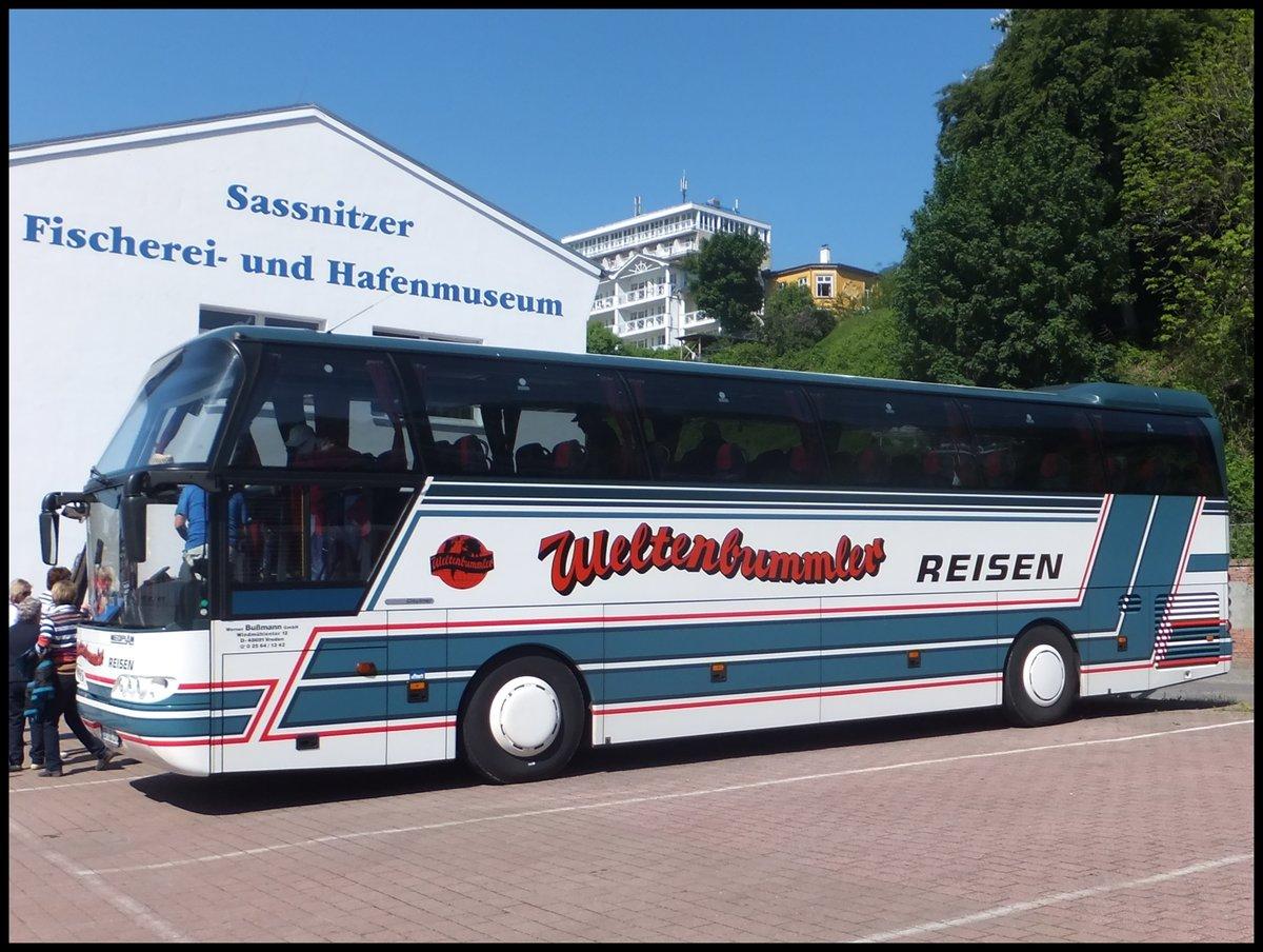 Neoplan Cityliner von Weltenbummler aus Deutschland im