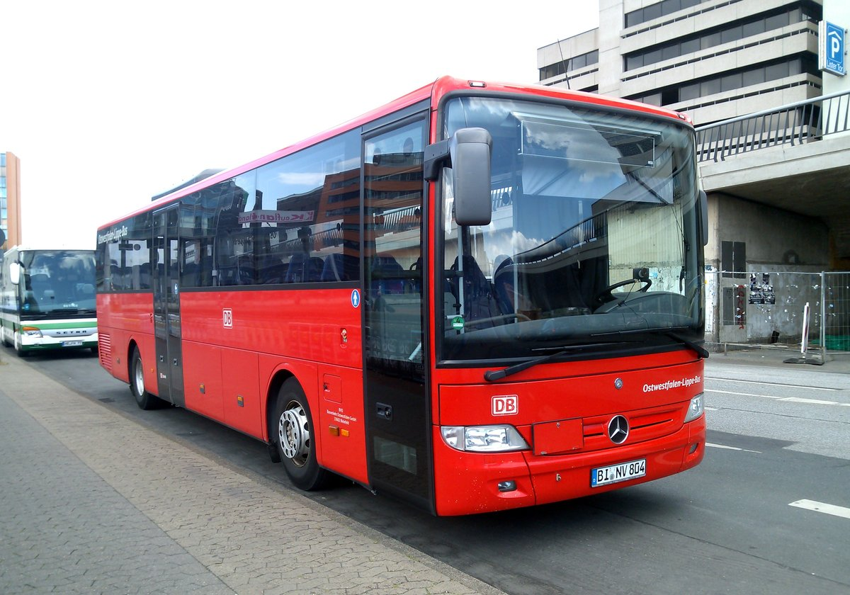 ostwestfalen lippe bus in hannover aufgenommen am bus. Black Bedroom Furniture Sets. Home Design Ideas