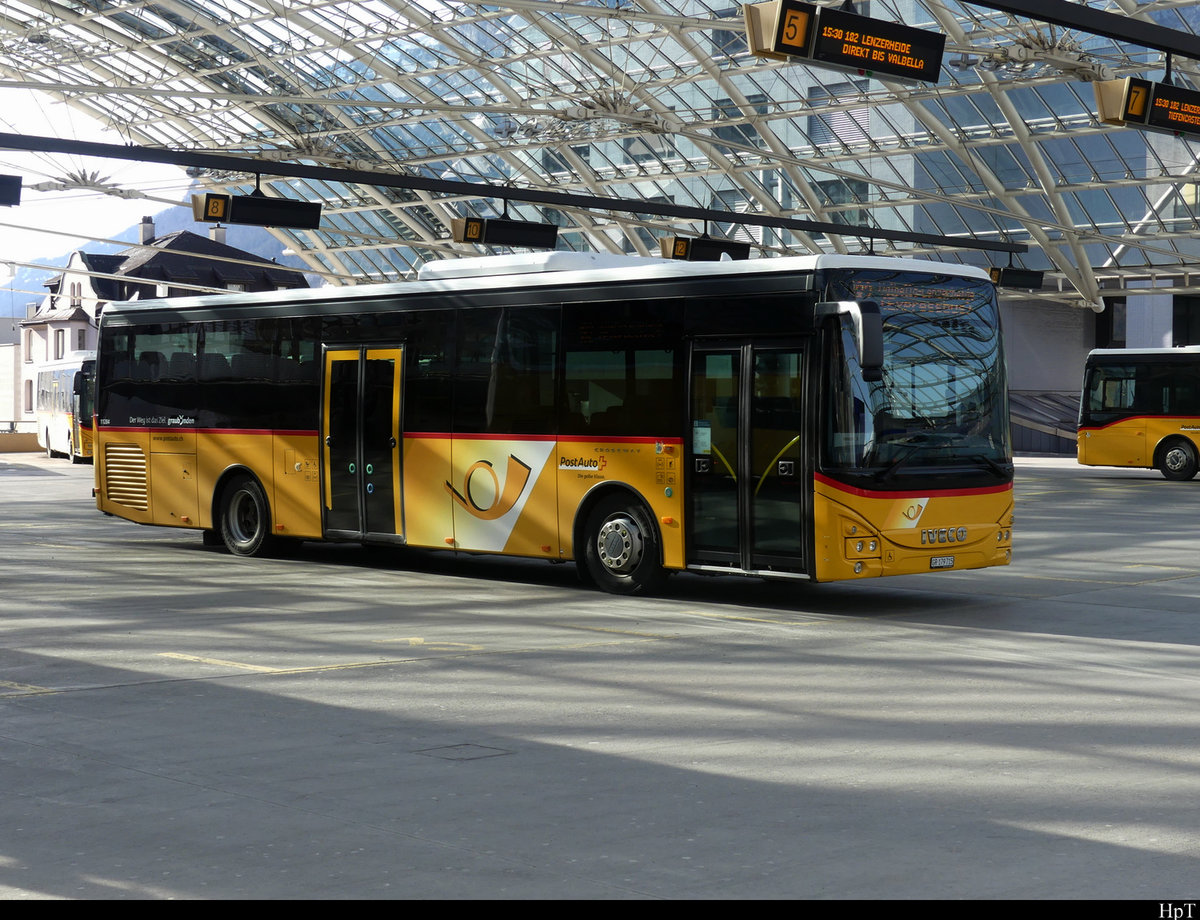 Postauto - Iveco Irisbus Crossway  GR  179715 in Chur am 19.02.2021