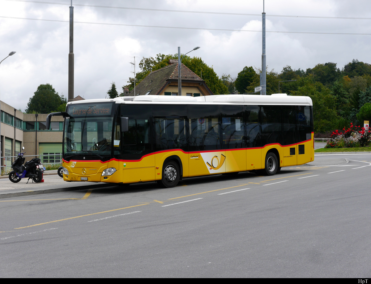 Postauto - Mercedes Citaro VD  615808 in Lausanne Croisettes am 06.09.2020