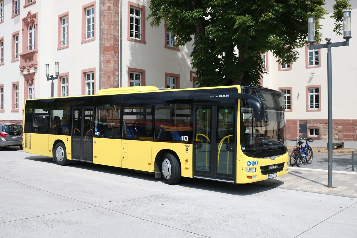 Rack Tours MAN Lions City am 12.07.18 in Hanau Freiheitsplatz