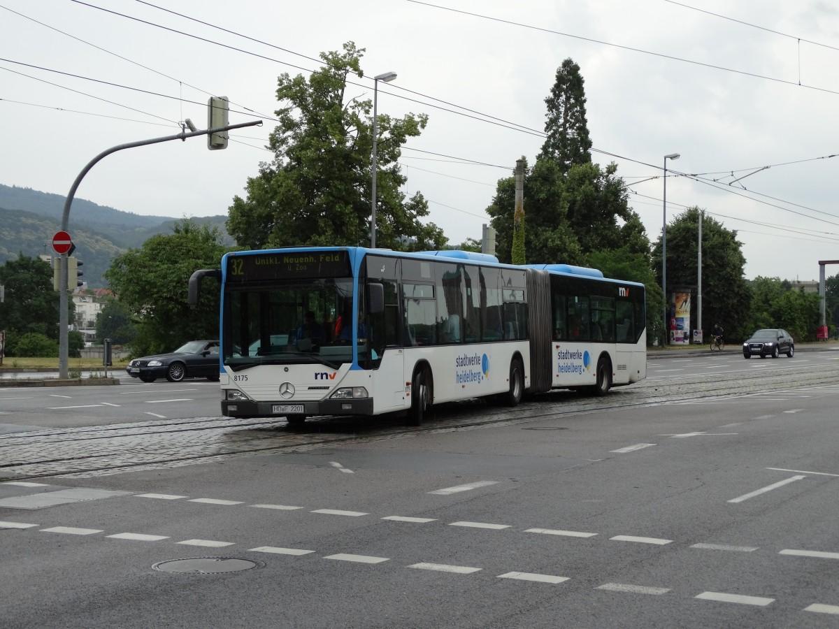 rnv mercedes benz citaro c1 g 8175 am in heidelberg bus. Black Bedroom Furniture Sets. Home Design Ideas
