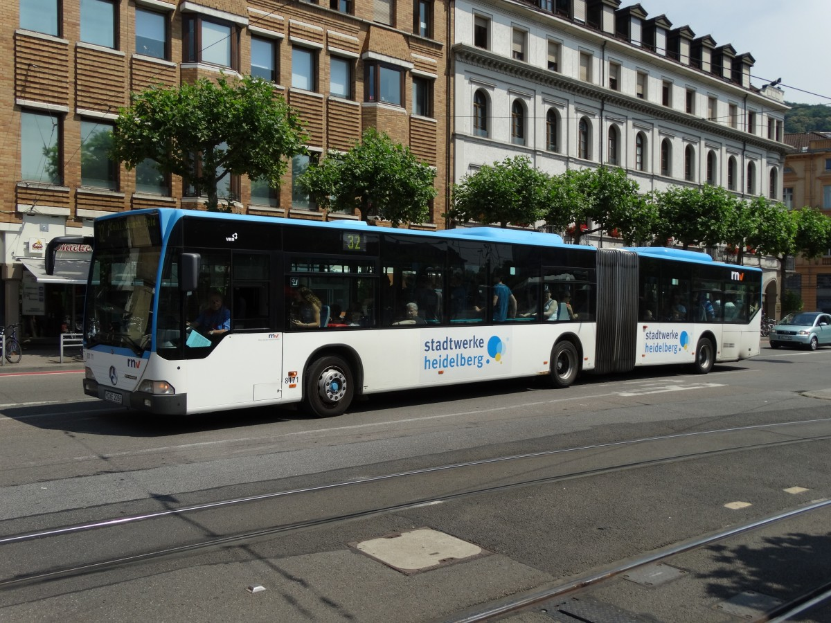 RNV Mercedes Benz Citaro C1 G 817 am 03.07.15 in Heidelberg