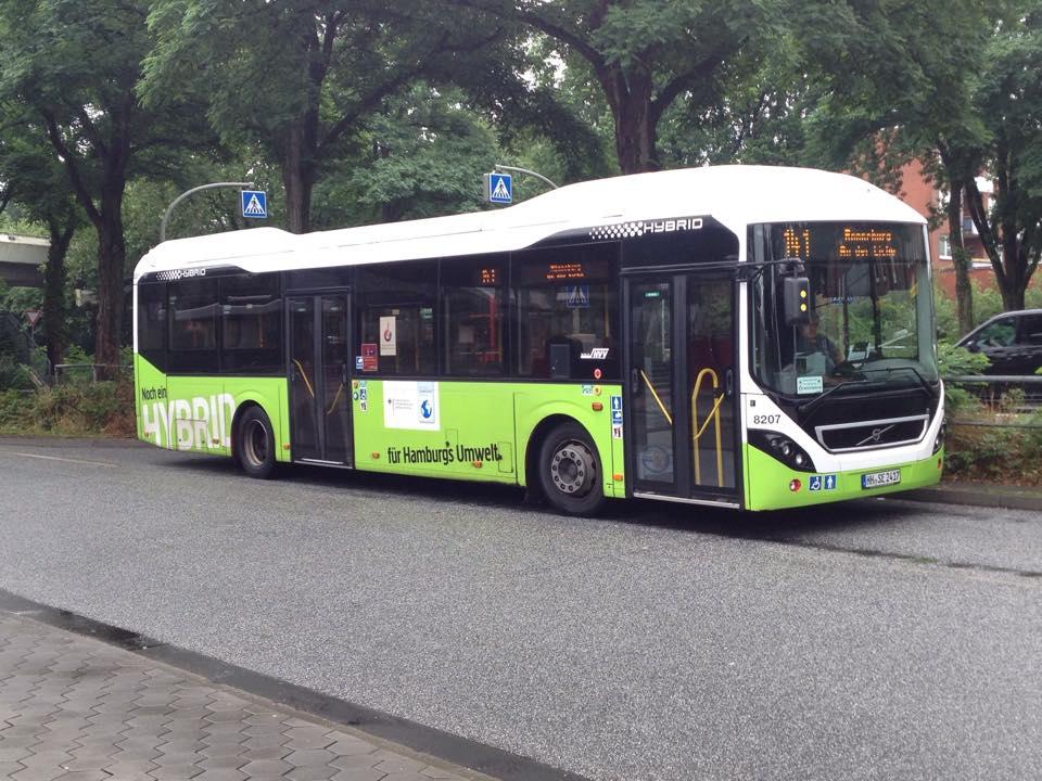 sbg 8207 volvo 7900 hybrid auf linie 141 neugraben am bus. Black Bedroom Furniture Sets. Home Design Ideas
