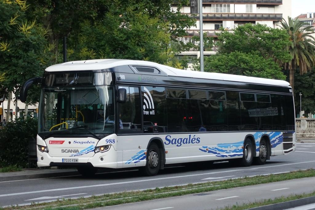 Scania Citywide Hybrid  Sagales , Barcelona 08.06.2018