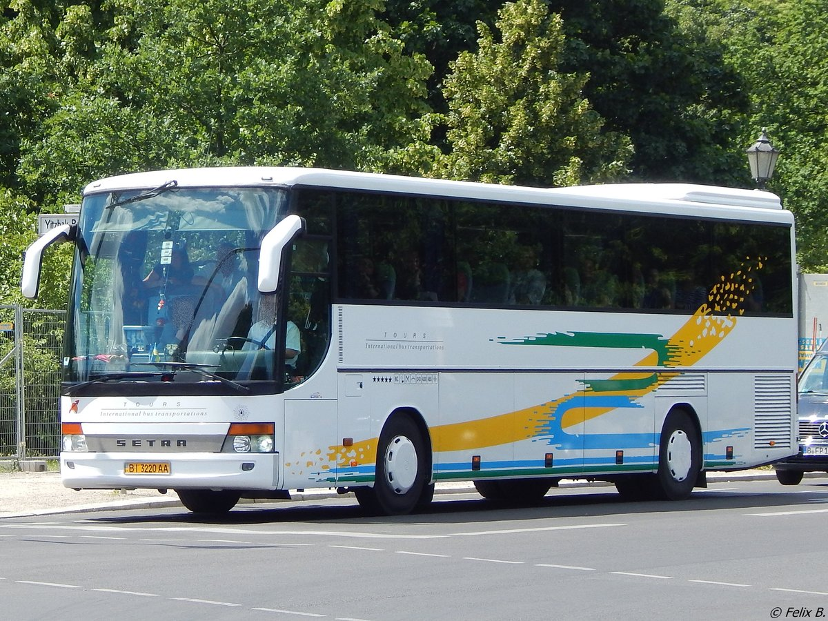 Setra 315 GT-HD aus der Ukraine in Berlin am 11.06.2016