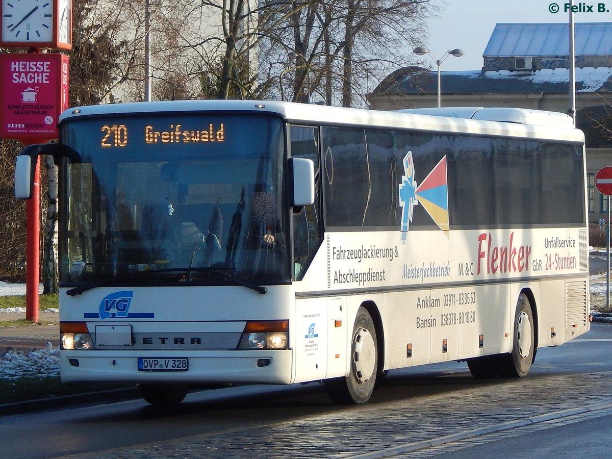 Küchen discount greifswald  Setra 315 UL der Anklamer Verkehrsgesellschaft in Greifswald am ...