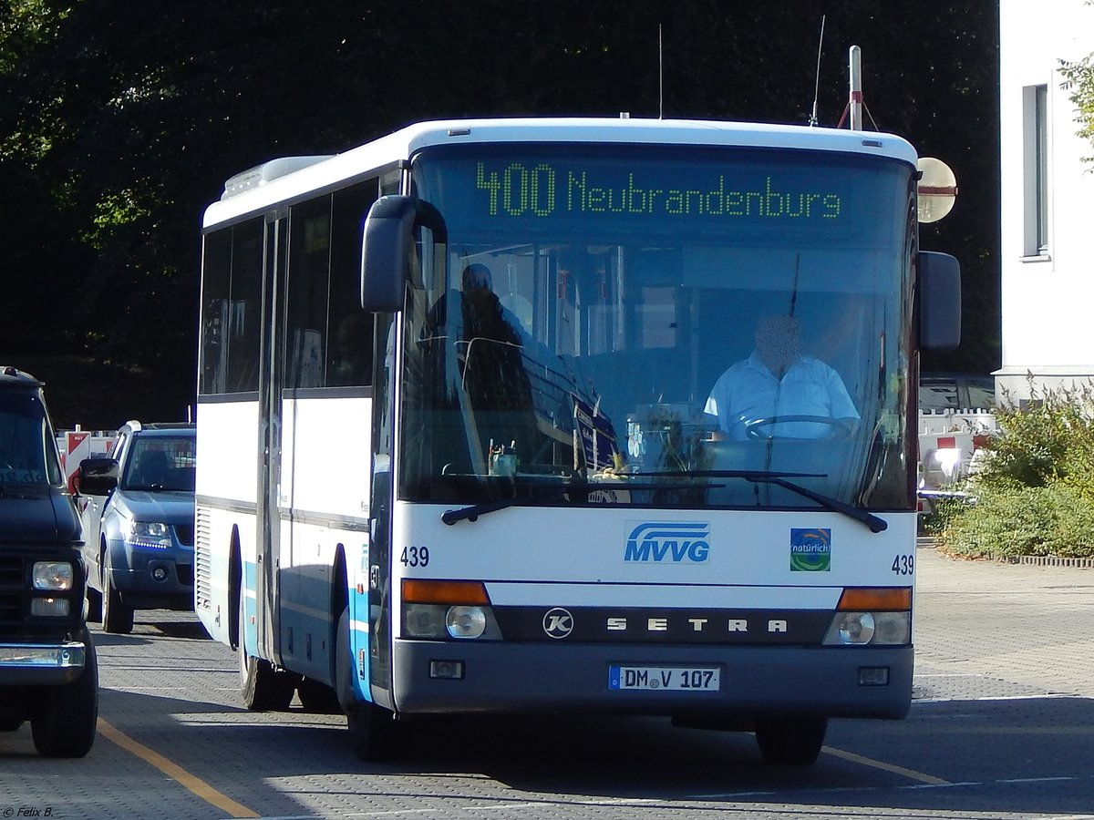 Setra 315 UL der MVVG in Neubrandenburg am 15.09.2017