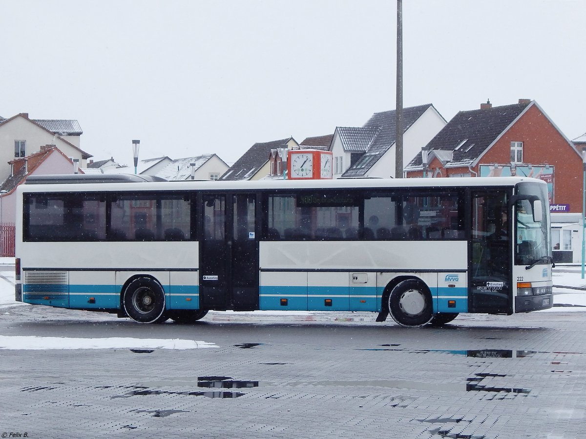 Setra 315 UL der MVVG in Neubrandenburg am 25.02.2018