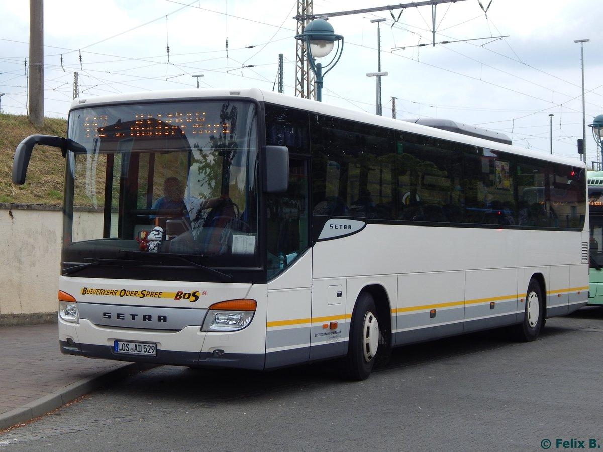 setra 415 ul von busverkehr oder spree in frankfurt am bus. Black Bedroom Furniture Sets. Home Design Ideas