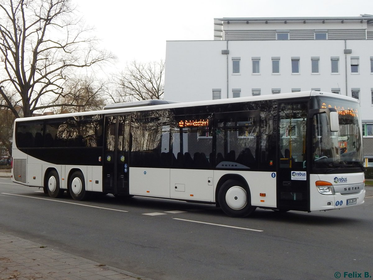 Setra 418 LE Business von Regionalbus Rostock in Güstrow am 23.11.2016