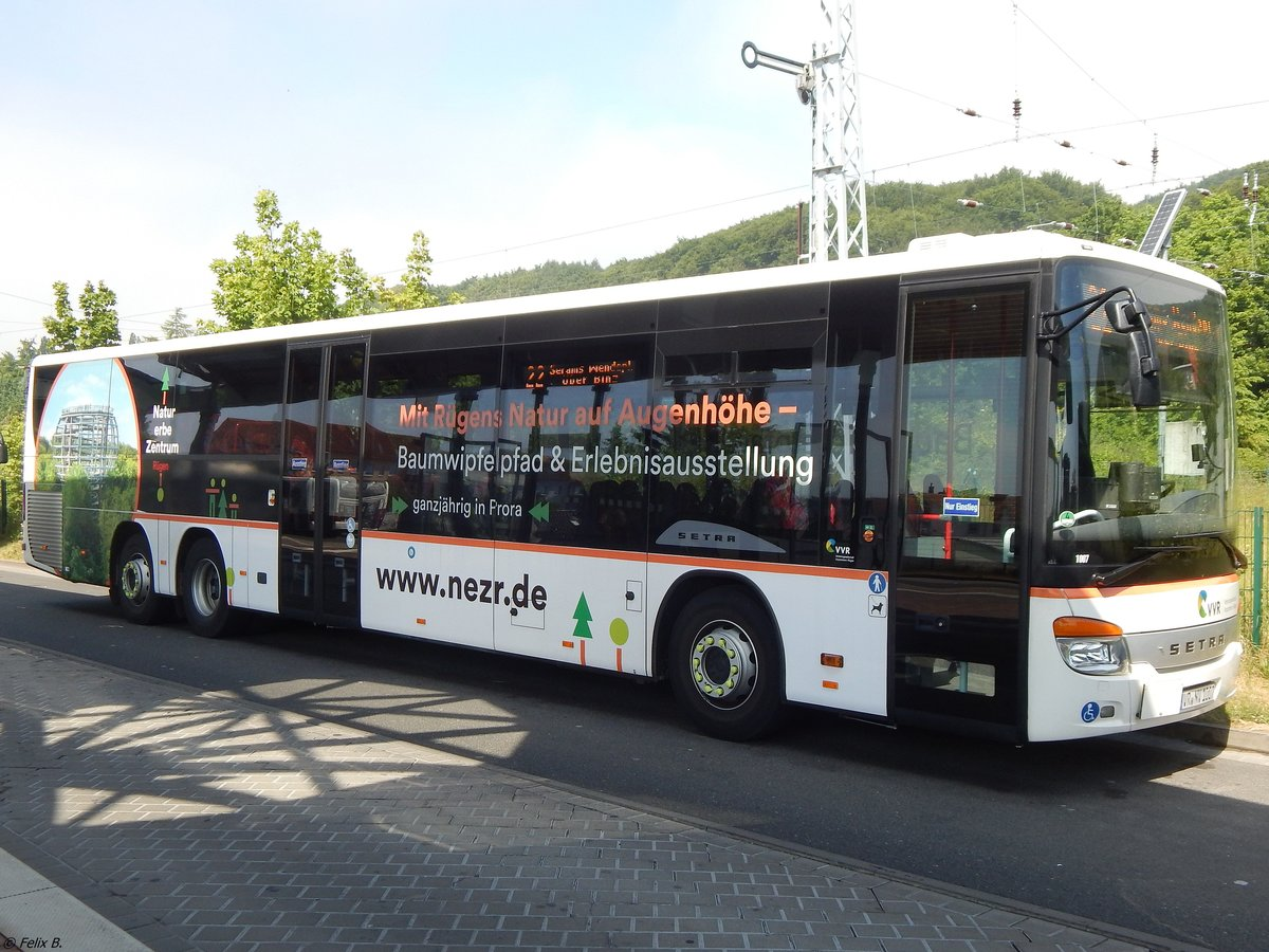 Setra 418 LE Business der VVR in Sassnitz am 03.06.2018