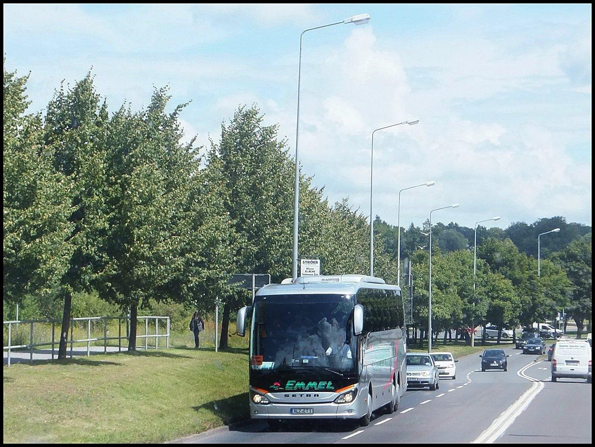 setra 516 hd von emmel aus deutschland in rostock am bus. Black Bedroom Furniture Sets. Home Design Ideas