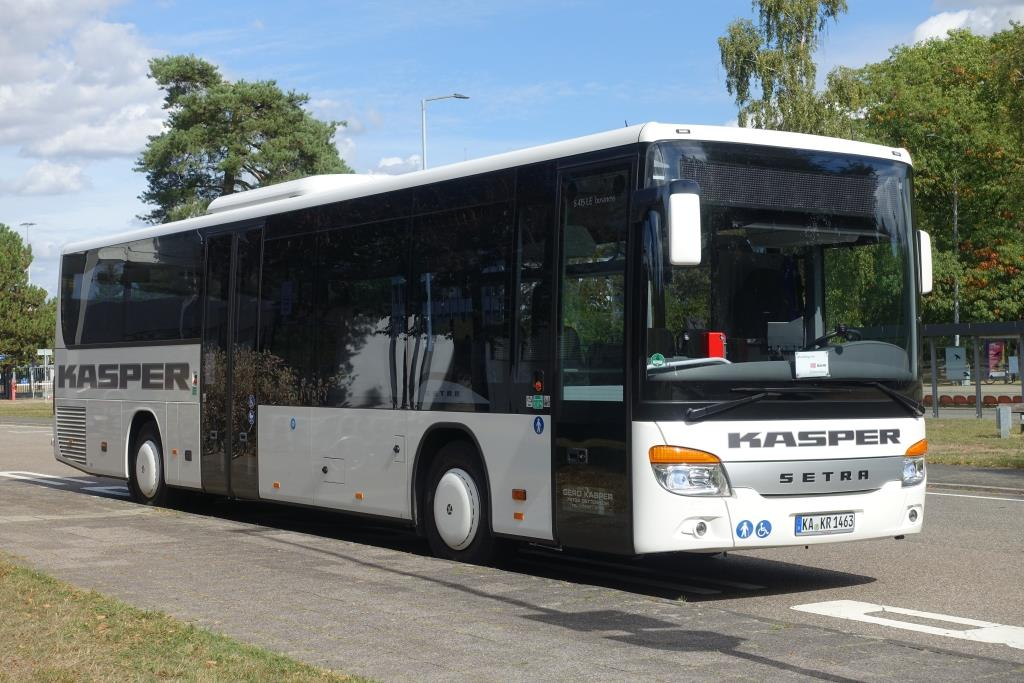 Setra S 415 LE business  Kasper , Eggenstein-Leopoldshafen September 2018