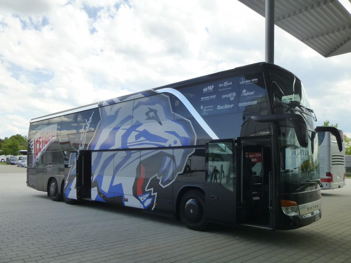 mein fernbus setra s 4000er am in frankfurt am main bus. Black Bedroom Furniture Sets. Home Design Ideas